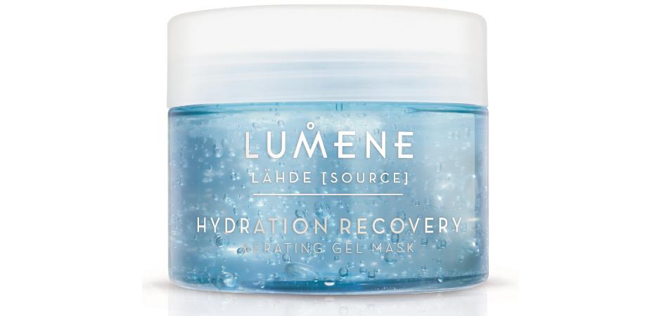 Кислородная увлажняющая и восстанавливающая маска Lande Hydration Recovery Oxyganating Gel Mask от Lumene