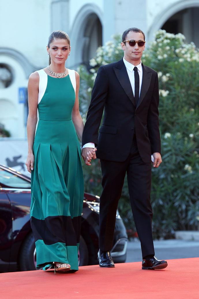 Элиза Седнауи с супругом Алексом Деллалом