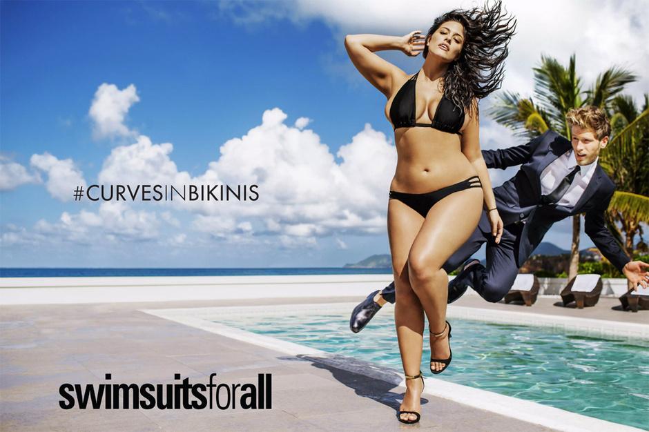 Plus-size модель Эшли Грэм