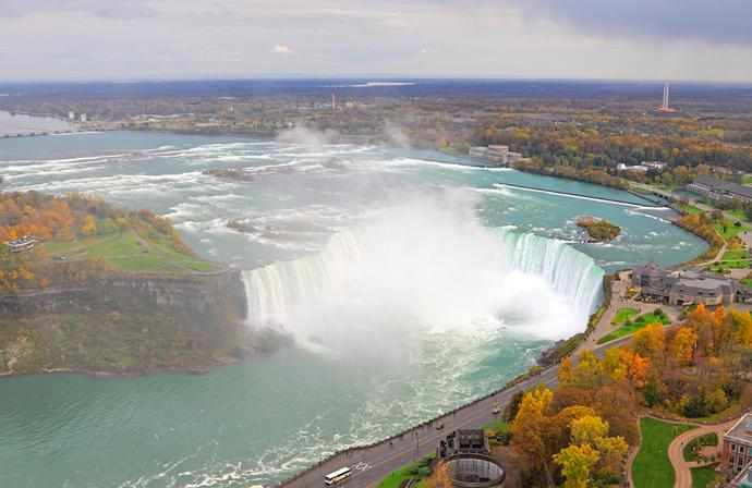 Ниагарский водопад, Канада