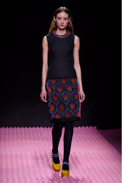 Показ Mary Katrantzou на Неделе моды в Лондоне | галерея [1] фото [5]