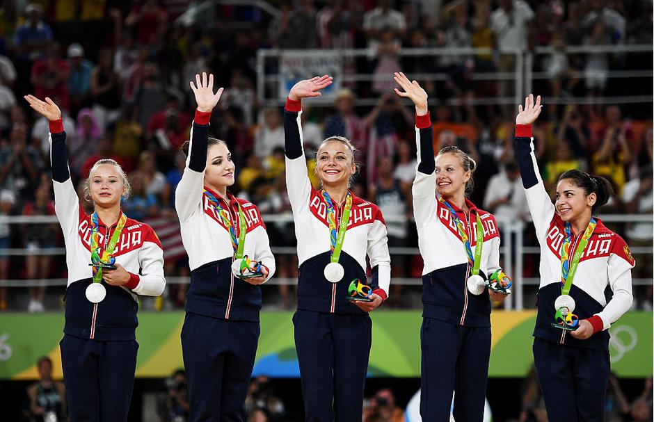 Российская команда по спортивной гимнастике