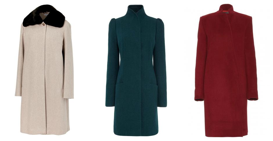осенние пальто 2013 фото женские
