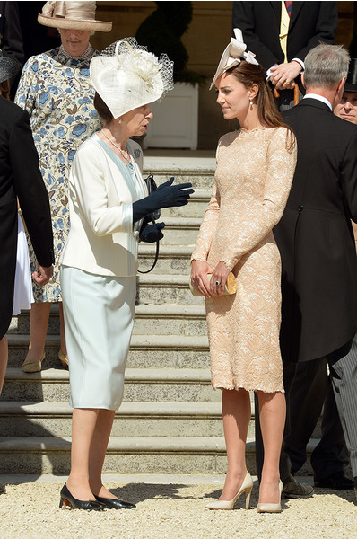 Принцесса Анна и герцогиня Кэтрин
