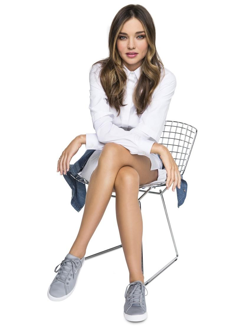 Миранда Керр в рекламе Reebok