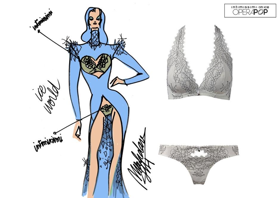 Эскиз костюма от Али Махдави