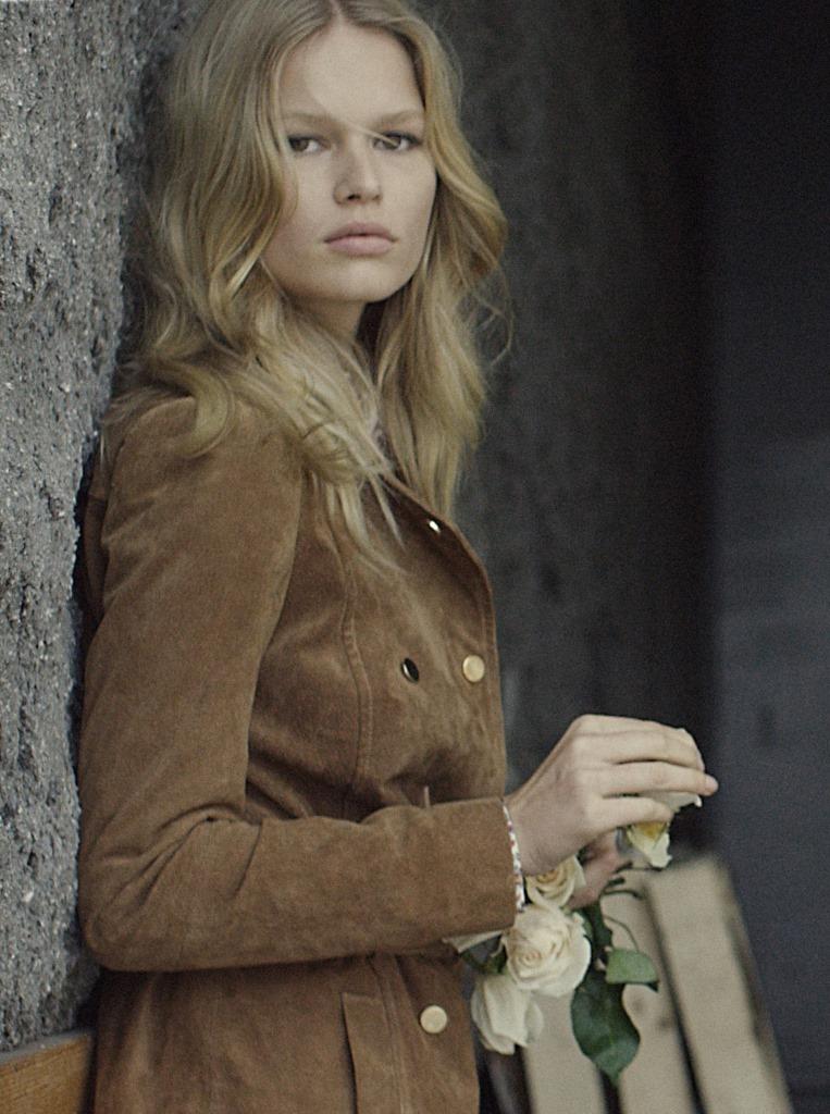 Анна Эверс стала лицом новой коллекции Mango