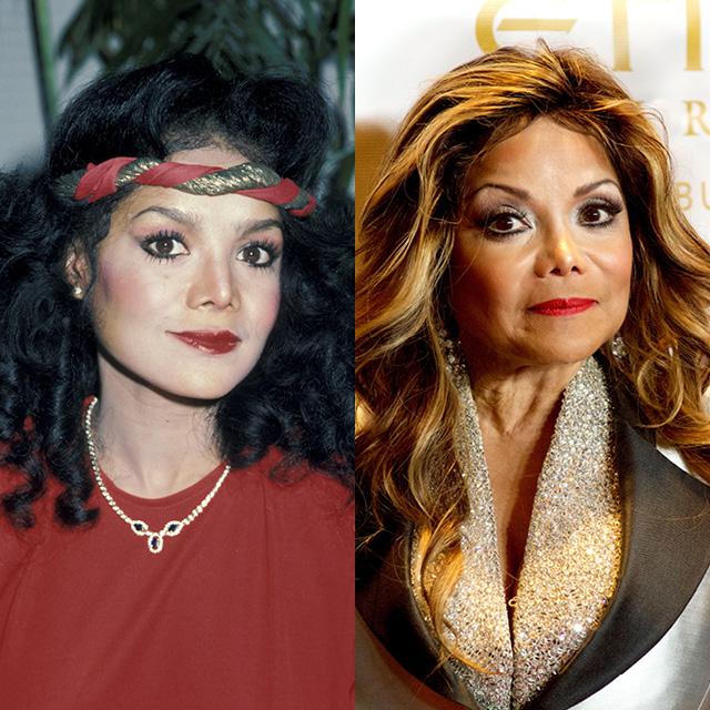 Ла Тойя Джексон в 1984 и в 2015