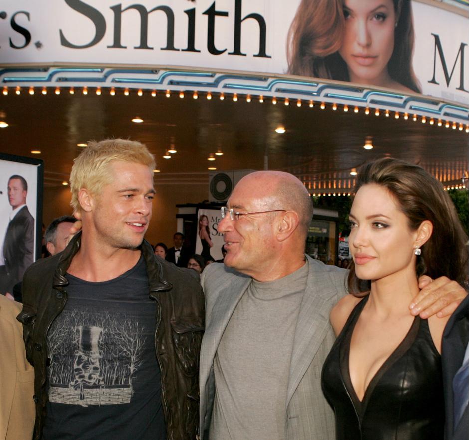 """Анджелина Джоли и Брэд Питт на премьере фильма """"Мистер и миссис Смит"""""""