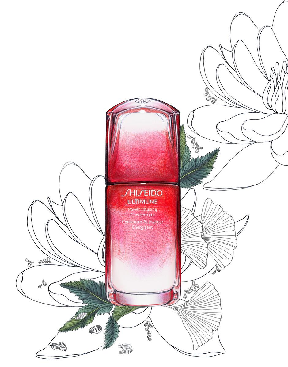 Сыворотка Ultimune Power Infusing, Shiseido