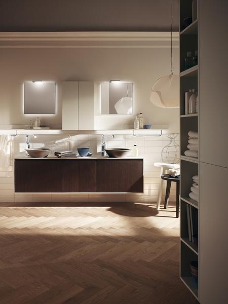 Новые решения для ванной от компании Scavolini | галерея [1] фото [6]