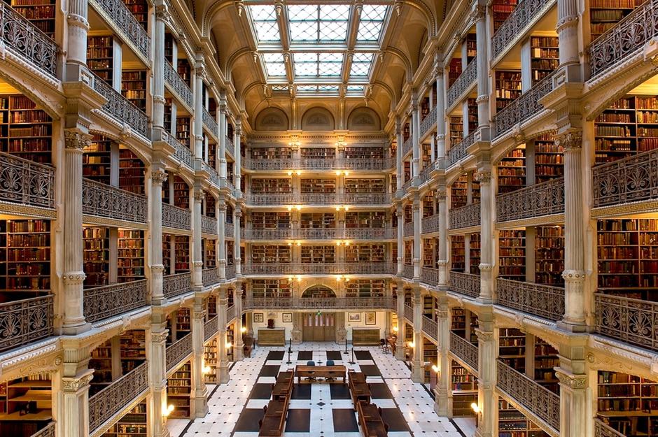 Библиотека Джорджа Пибоди, США