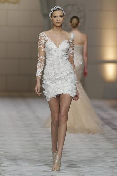 Сексуальные свадебные платья фото 5