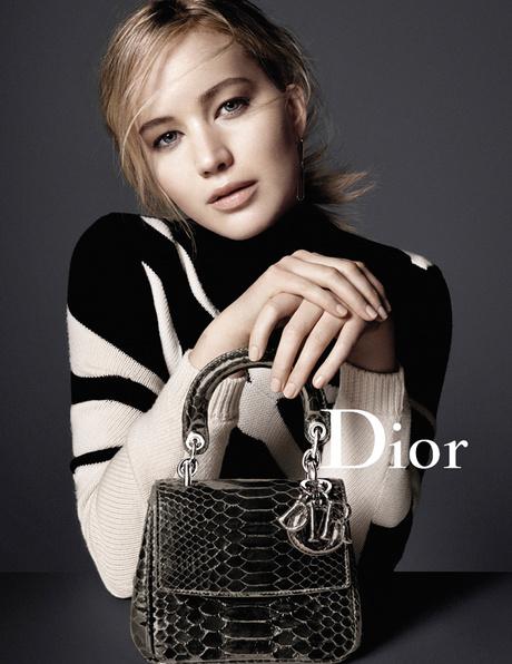 Дженнифер в рекламе Christian Dior