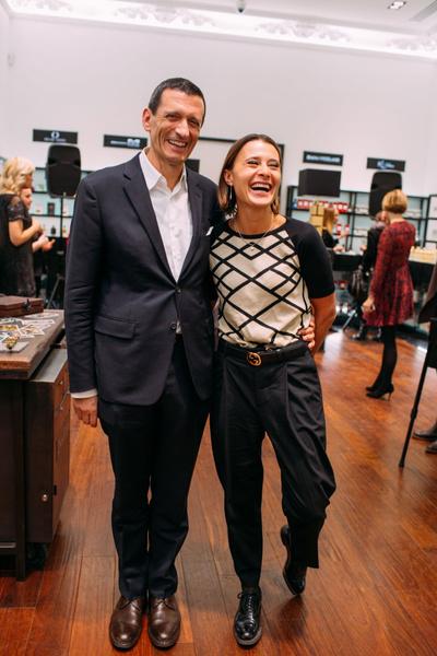 Александр Вриланд представил в Москве коллекцию Diana Vreeland Parfums | галерея [1] фото [9]