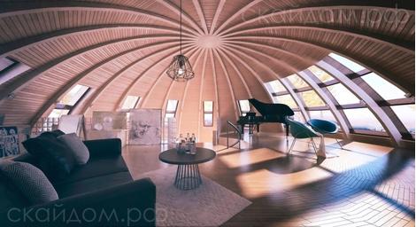 Купольные дома от российской компании | галерея [1] фото [3]
