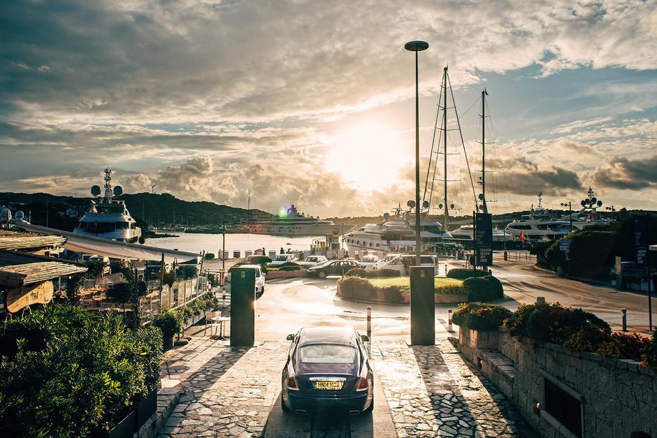 Rolls-Royce открыл летнюю студию на Сардинии