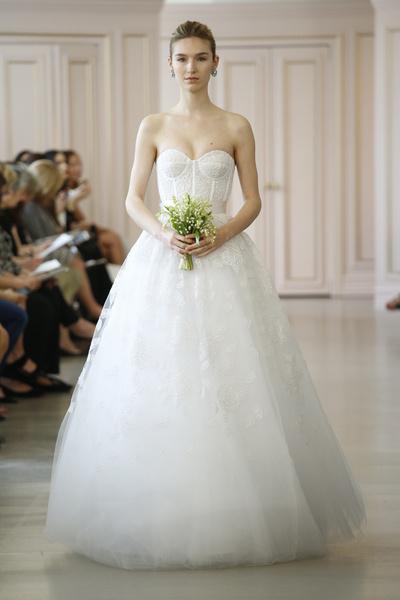 Пышные свадебные платья 2015