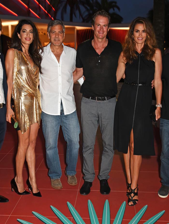 Джордж и Амаль Клуни: фото 2015