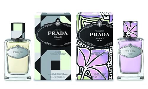 На фото: ароматы Prada Infusion de Tubereuse и Infusion de Vetiver