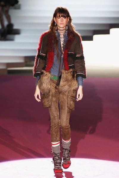 Показ DSquared2 на Неделе моды в Милане | галерея [2] фото [27]