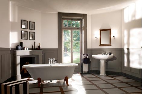 Ванная в стиле ретро: коллекции Amadea и Hommage от Villeroy & Boch | галерея [1] фото [11]