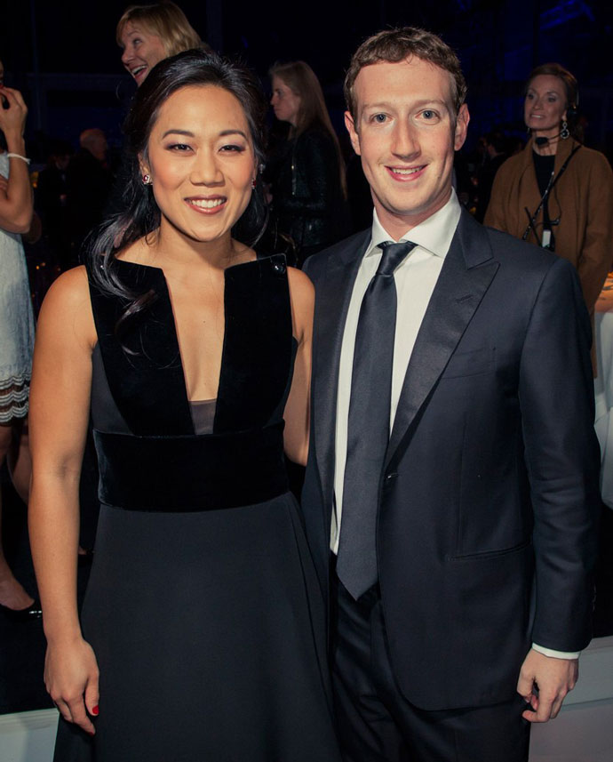 Присцилла и Марк Цукерберг