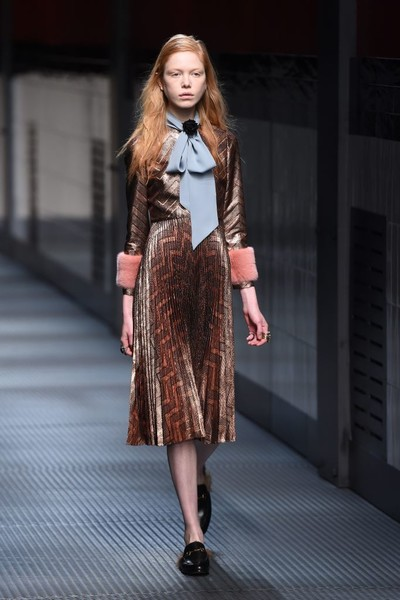 Показ Gucci на Неделе моды в Милане | галерея [1] фото [8]