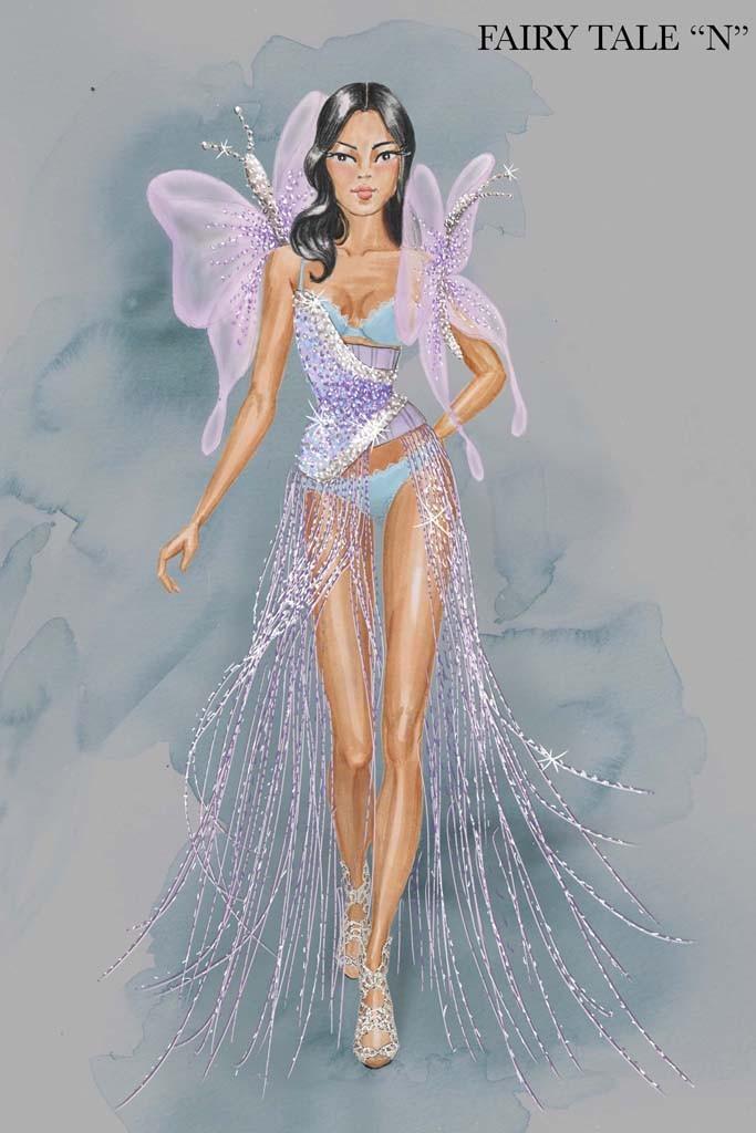 Образ с показа Victoria's Secret Fashion Show 2014