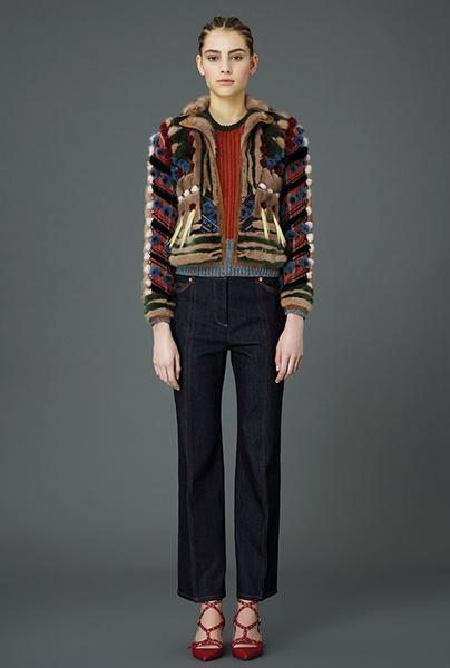 Главные тренды pre-fall коллекции Valentino | галерея [4] фото [4]