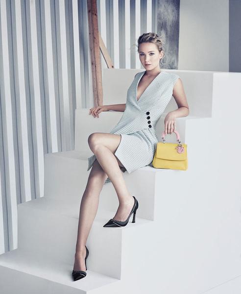 Дженнифер Лоуренс в рекламе сумок Be Dior | галерея [1] фото [3]