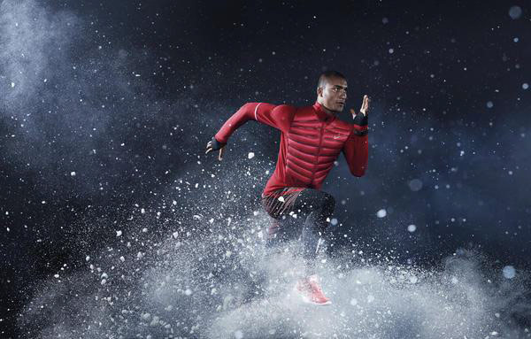 Коллекция Nike для зимнего бега
