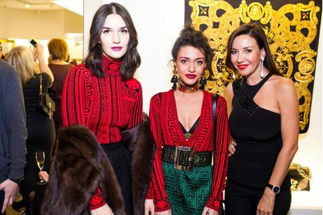 Селебрити на презентации осенней коллекции Versace | галерея [1] фото [8]