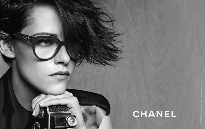 Кристен Стюарт в рекламе линии солнцезащитных очков Chanel