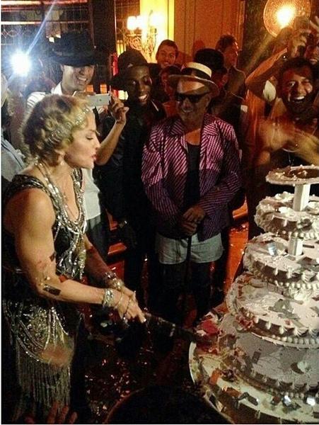 Мадонна отметила 56-ой день рождения