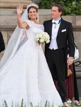 Мадлен, принцесса Швеции, Кристофер О'Нилл