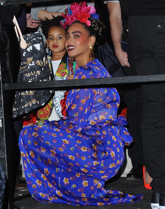 Бейонсе в образе Фриды Кало