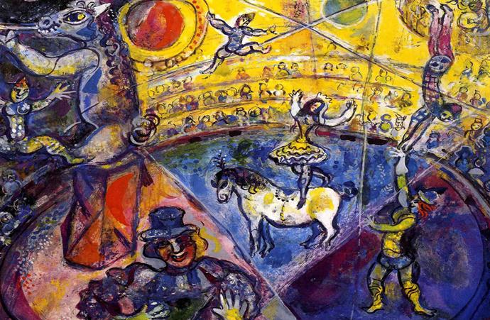 """""""Игра в цирк"""" в Московском музее современного искусства"""