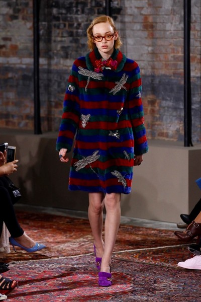 Дом Gucci представил новую круизную коллекцию 2016 | галерея [2] фото [35]