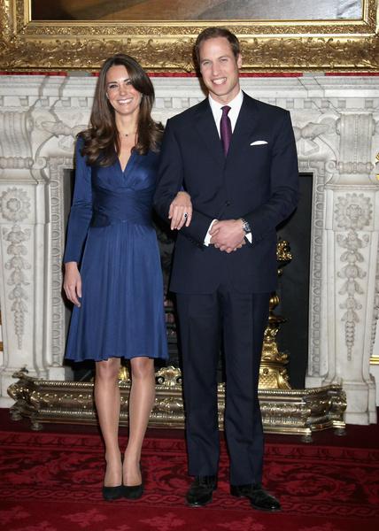 История любви Кейт Миддлтон и принца Уильяма в фотографиях | галерея [2] фото [4]