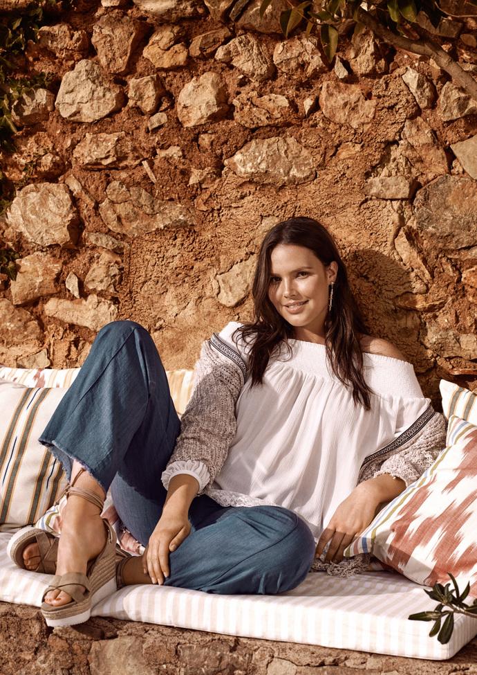 Кэндис Хаффин стала лицом рекламной кампании Violeta by Mango