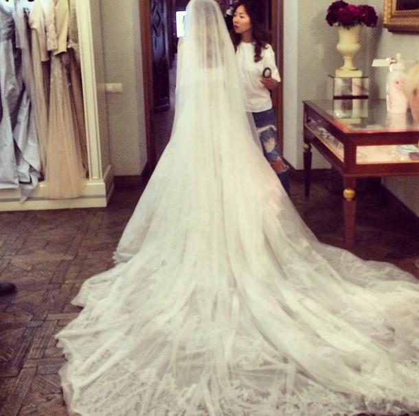 Свадебные приготовления невесты