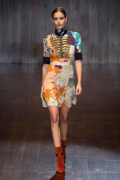 Поках Gucci на Неделе моды в Милане