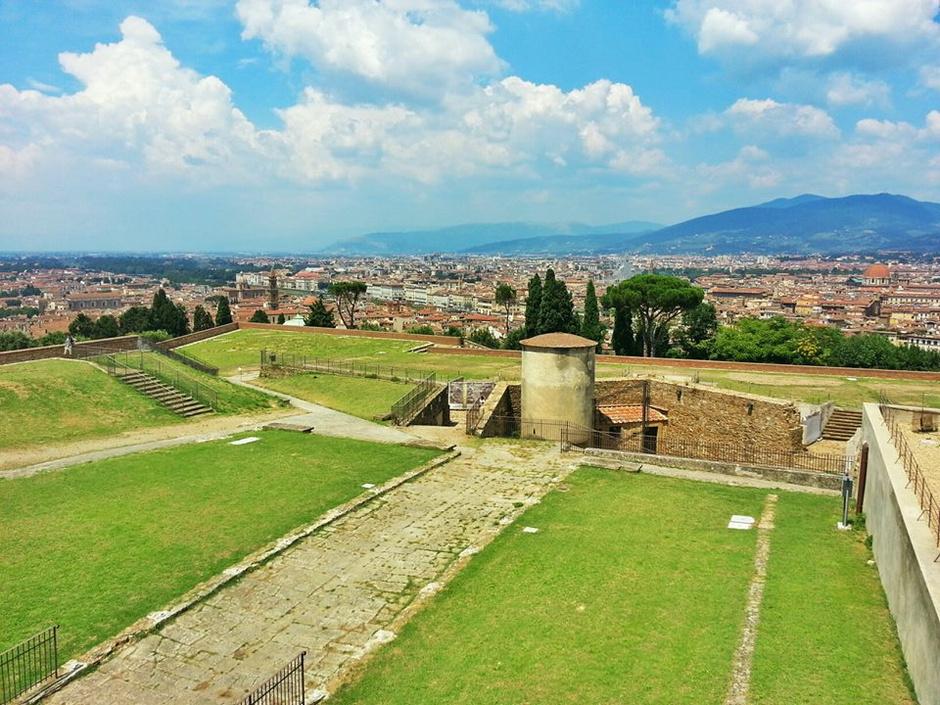 Крепость Форте-ди-Бельведере во Флоренции