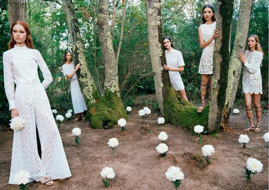 Красивые белые платья: фото