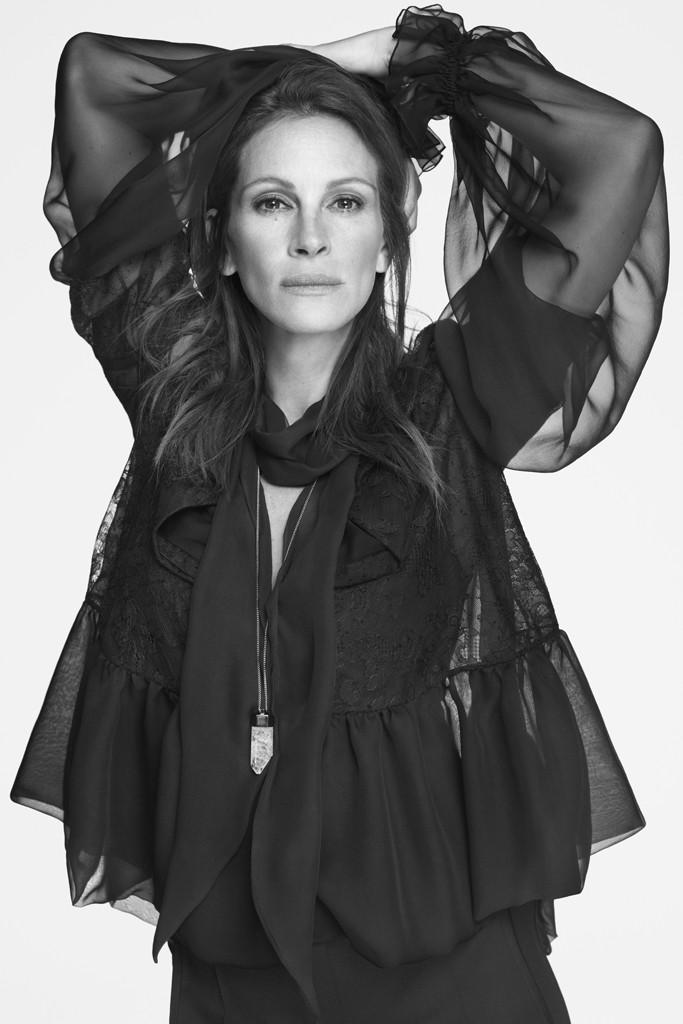 Джулия Робертс в рекламе Givenchy