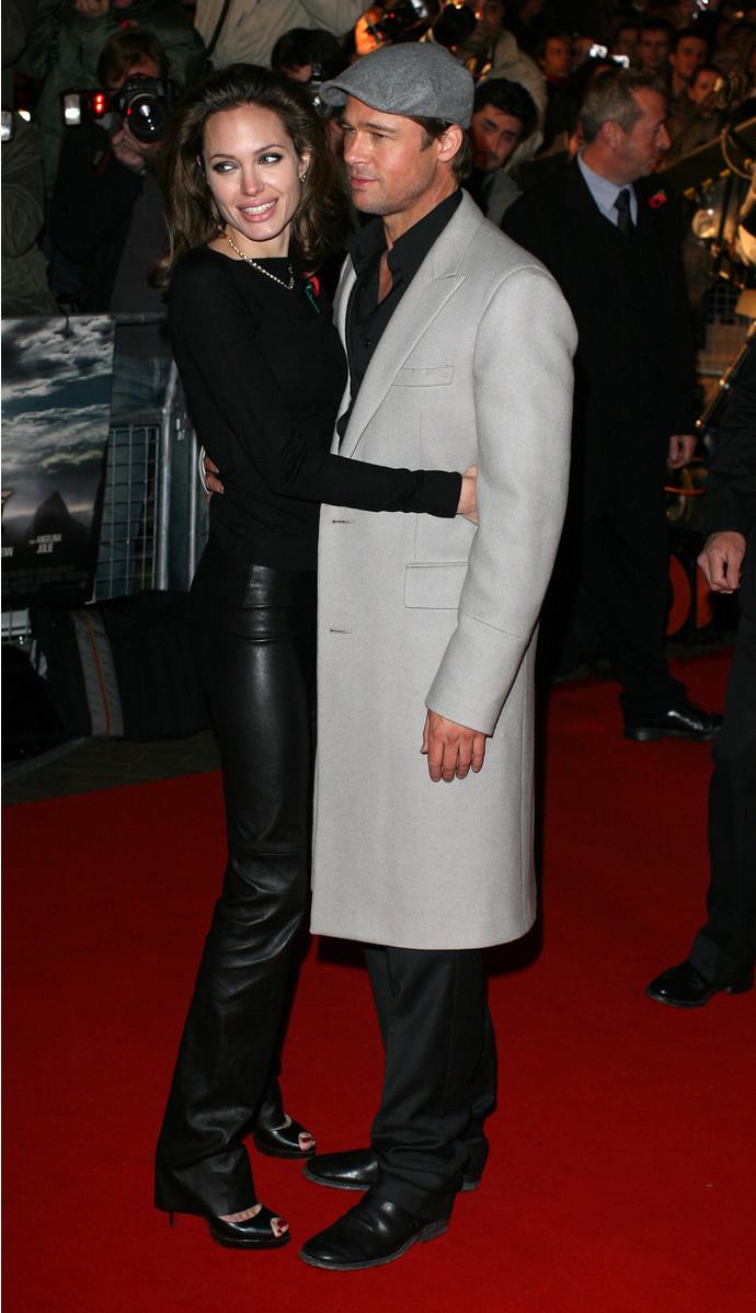 Анджелина Джоли и Брэд Питт, 2007 год