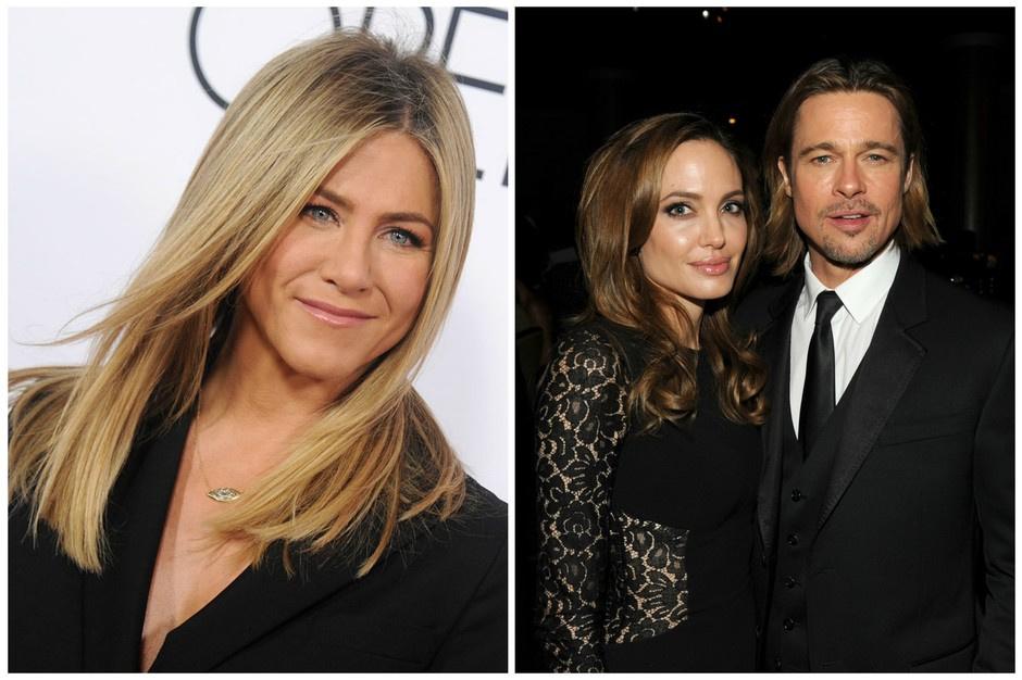 Дженнифер Энистон высказалась о разводе Брэда Питта и Джоли