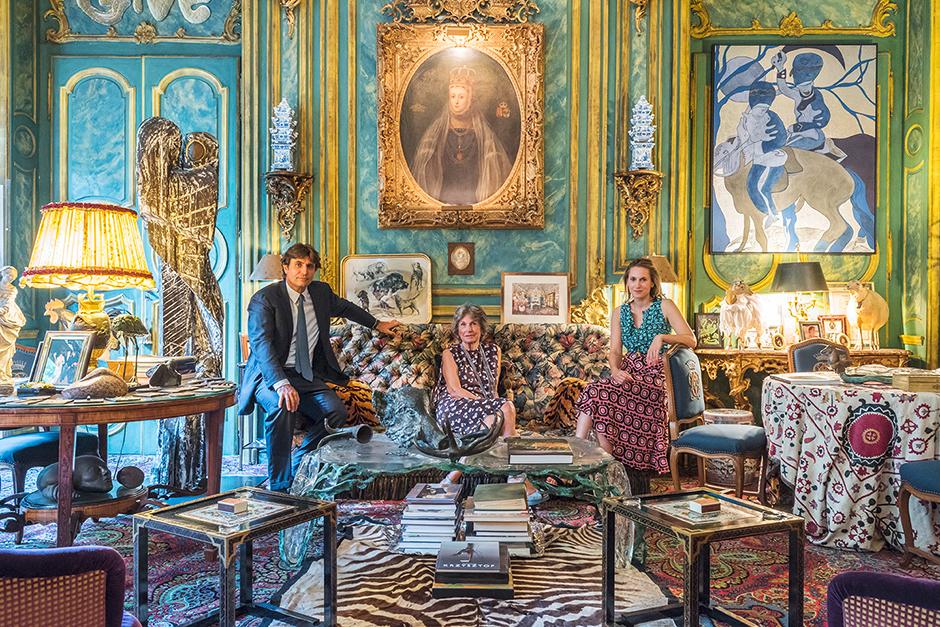 Семья владельцев Sisley
