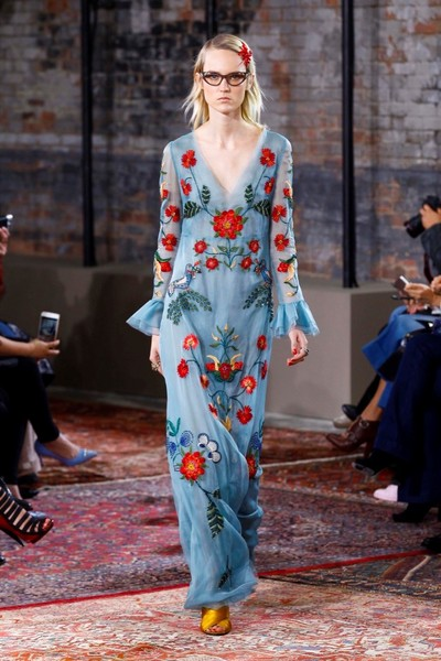 Дом Gucci представил новую круизную коллекцию 2016 | галерея [2] фото [49]